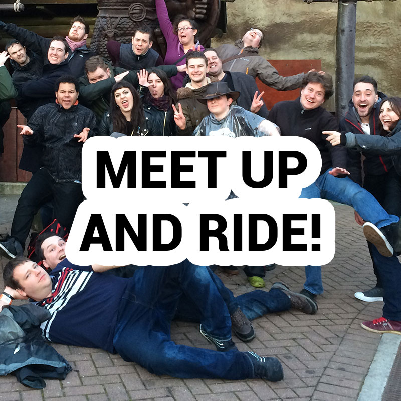 meet up and ride
