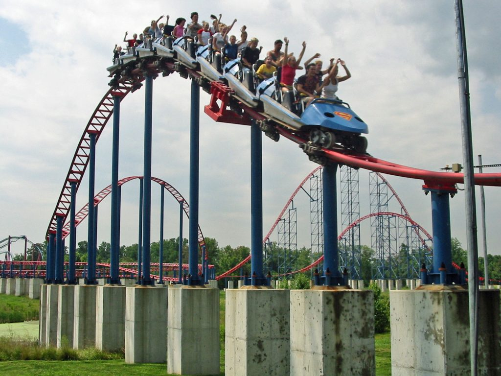 Superman Ride of Steel Six Flags America