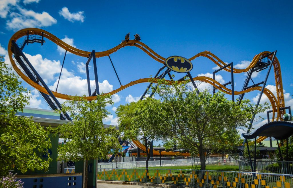 Batman The Ride Six Flags Fiesta Texas