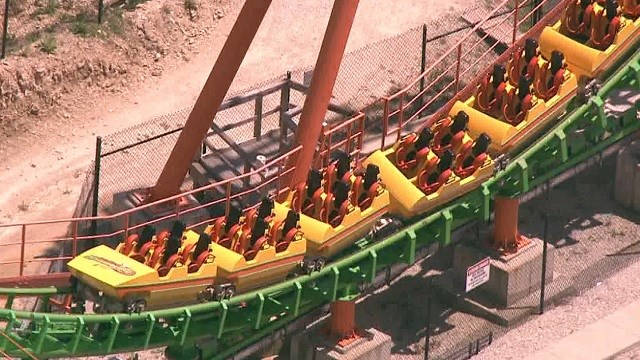 Boomerang Six Flags St. Louis Accident