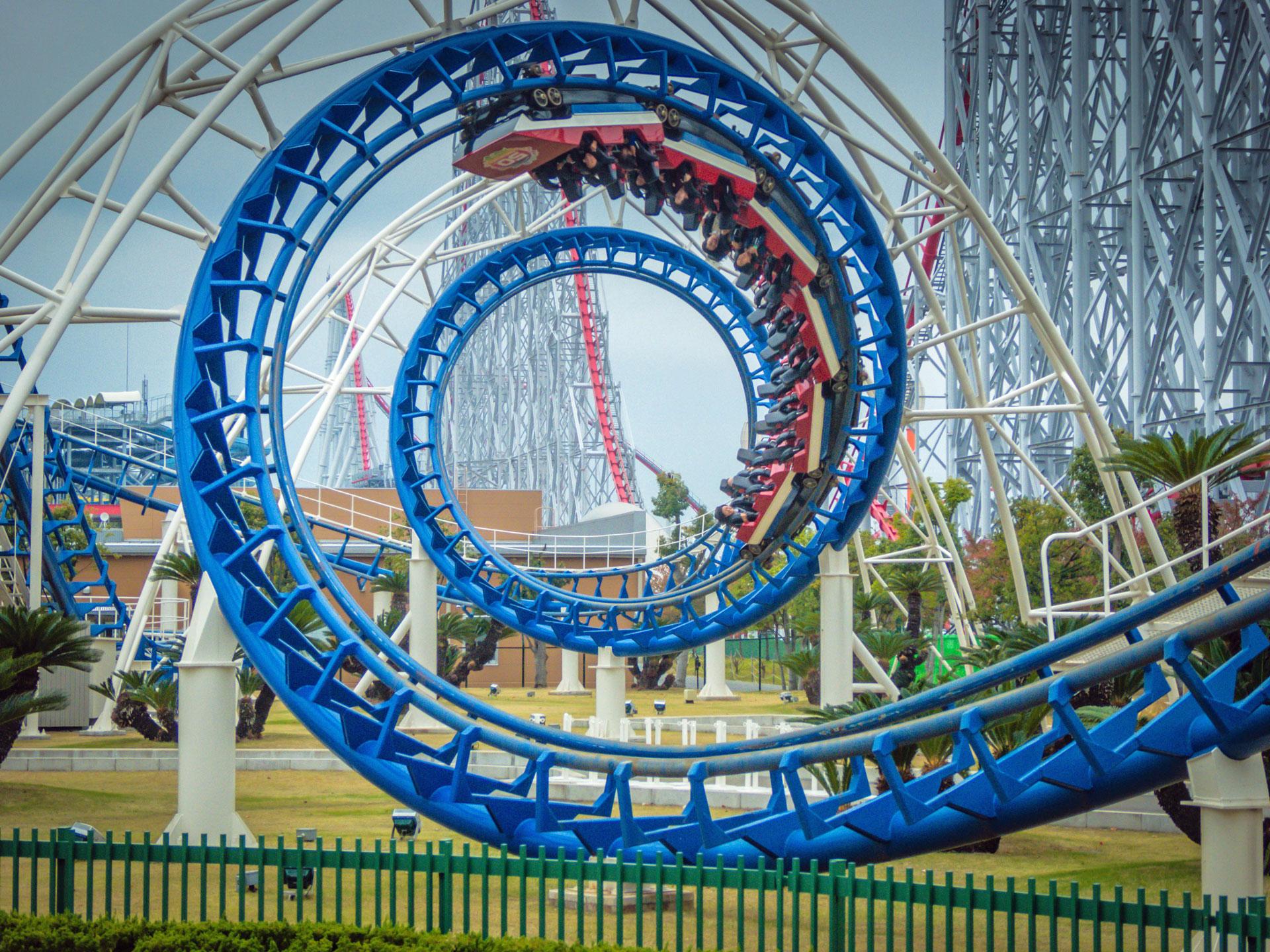 Rollercoaster Creator Game!  Free Web Arcade