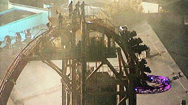 Hollywood Rip Ride Rockit, Universal Studios Orlando Florida Accident
