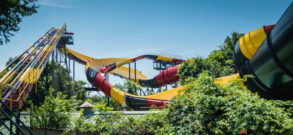 La Vibora Six Flags Over Texas USA.