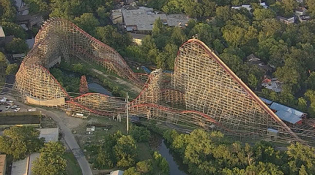 New Texas Giant, Six Flags Over Texas Accident