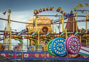 Queen Bee Button's Pleasure Beach