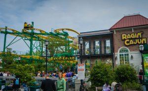 Ragin' Cajun Six Flags Great America