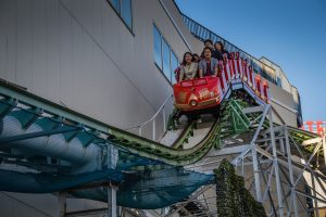 Roller Coaster Hanayashiki Amusement Park