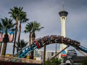 Speed – The Ride Las Vegas strip