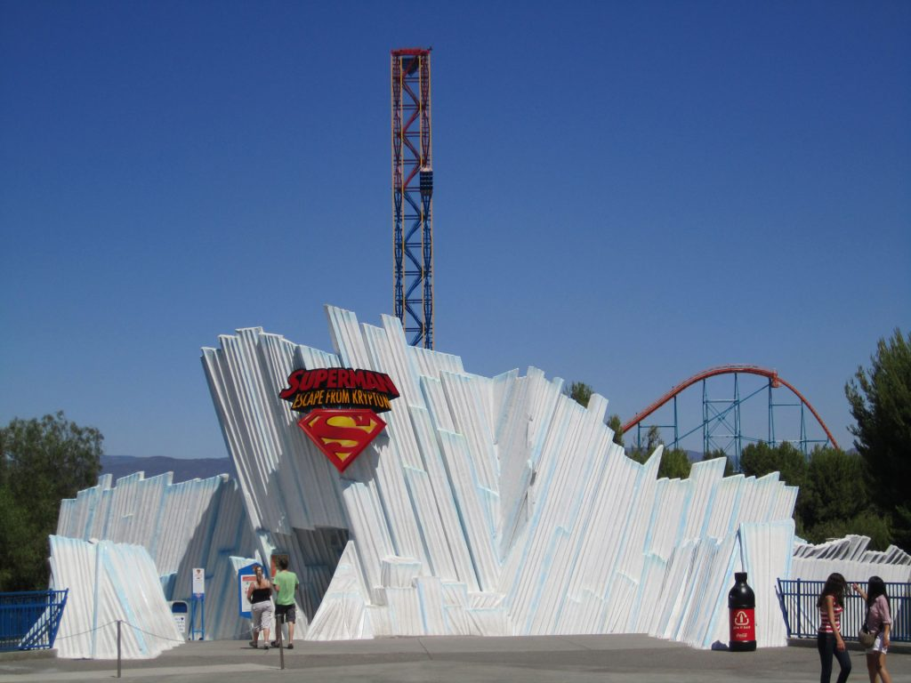 Superman Escape From Krypton Six Flags Magic Mountain