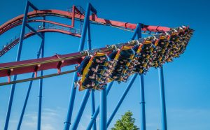 Superman Ultimate Flight Six Flags Great America