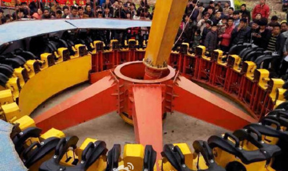 Flying Saucer Temple Fair Xinxiang Accident