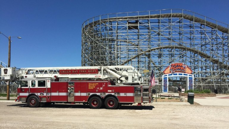 Zippin Pippin Bay Beach Wisconsin Accident