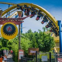 Batman The Escape at Six Flags Astro World