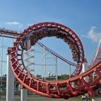 Great American Scream Machine Six Flags Great Adventure