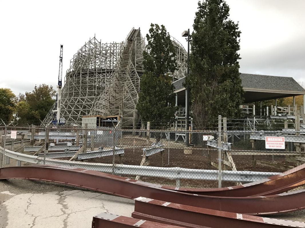 Cedar Point continues Mean Streak RMC conversion ...