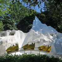 Ice Mountain Bobsled Enchanted Forest