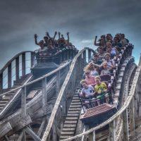 Joris en Deraak Efteling wooden racing roller coaster