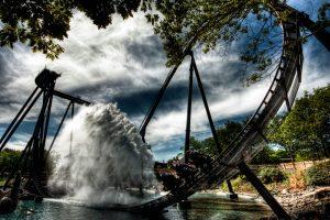 krake water splash heide park