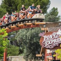 Pony Express Knotts Berry Farm