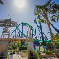 Riddler's Revenge Six Flags Magic Mountain