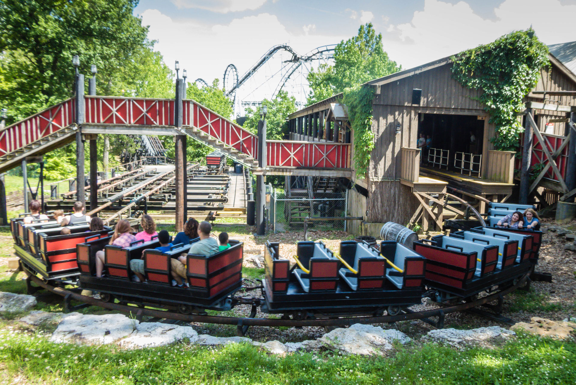 mine train coasters coasterforce