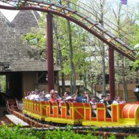 Runaway Mine Train Six Flags Great Adventure