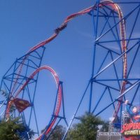 Superman Ultimate Flight Six Flags Discovery Kingdom