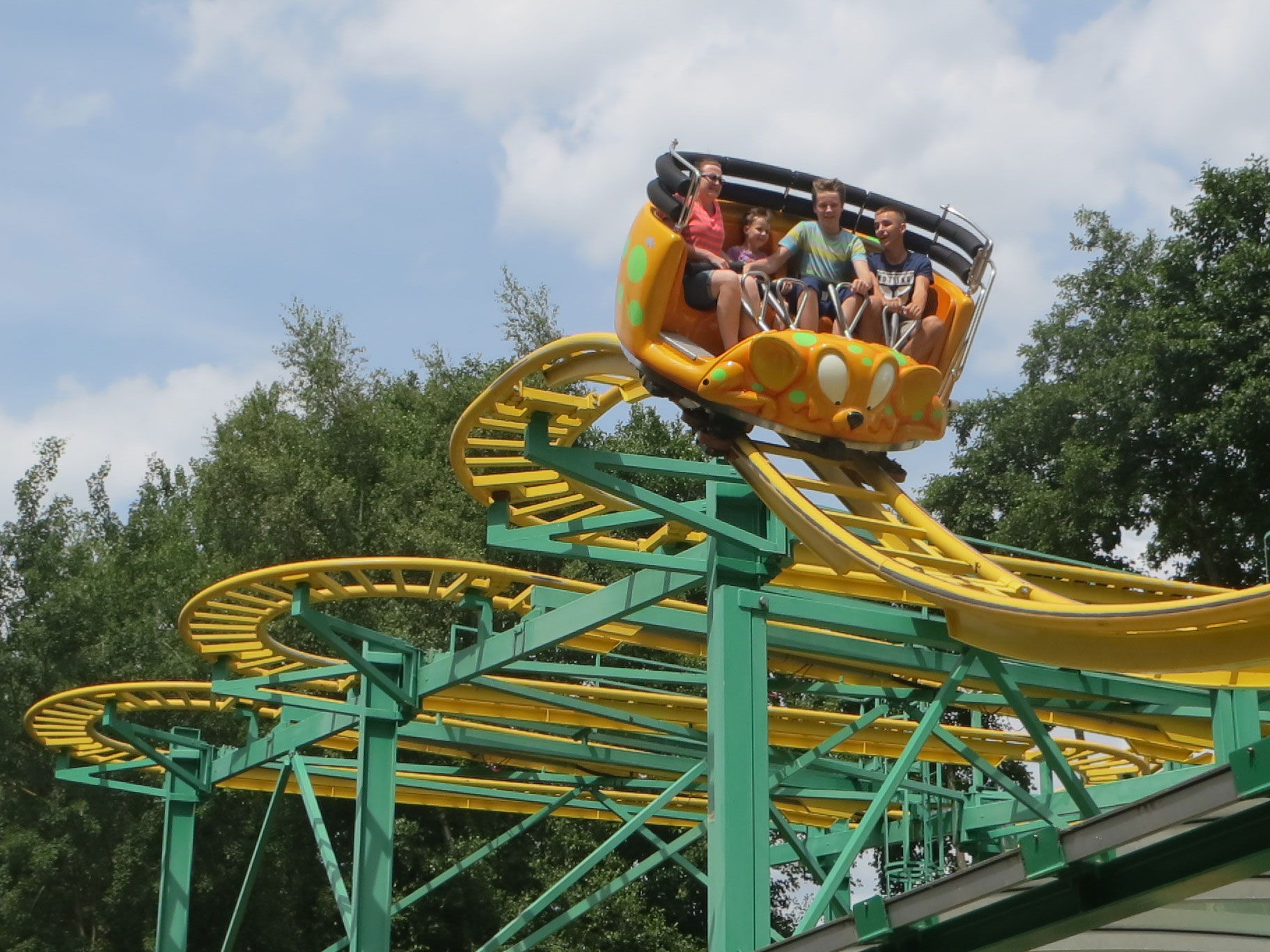 Wild Mouse Steel Coasterforce