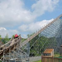 Voyage Holiday World lift hill