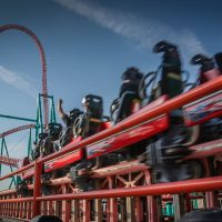 Xcelerator Knotts Berry Farm