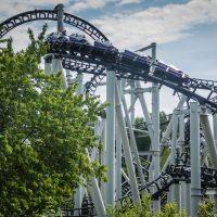 Xpress Platform 13 Walibi Holland horror roller coaster