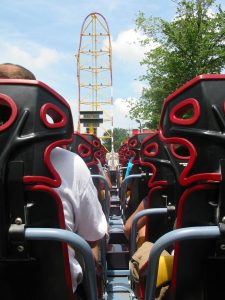 cear point seats top thrill dragster