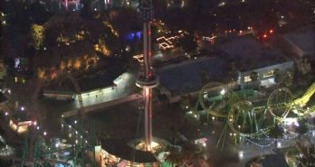 Knott's Berry Farm guests stranded