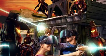 VR Showdown At Knott's Ghost Town