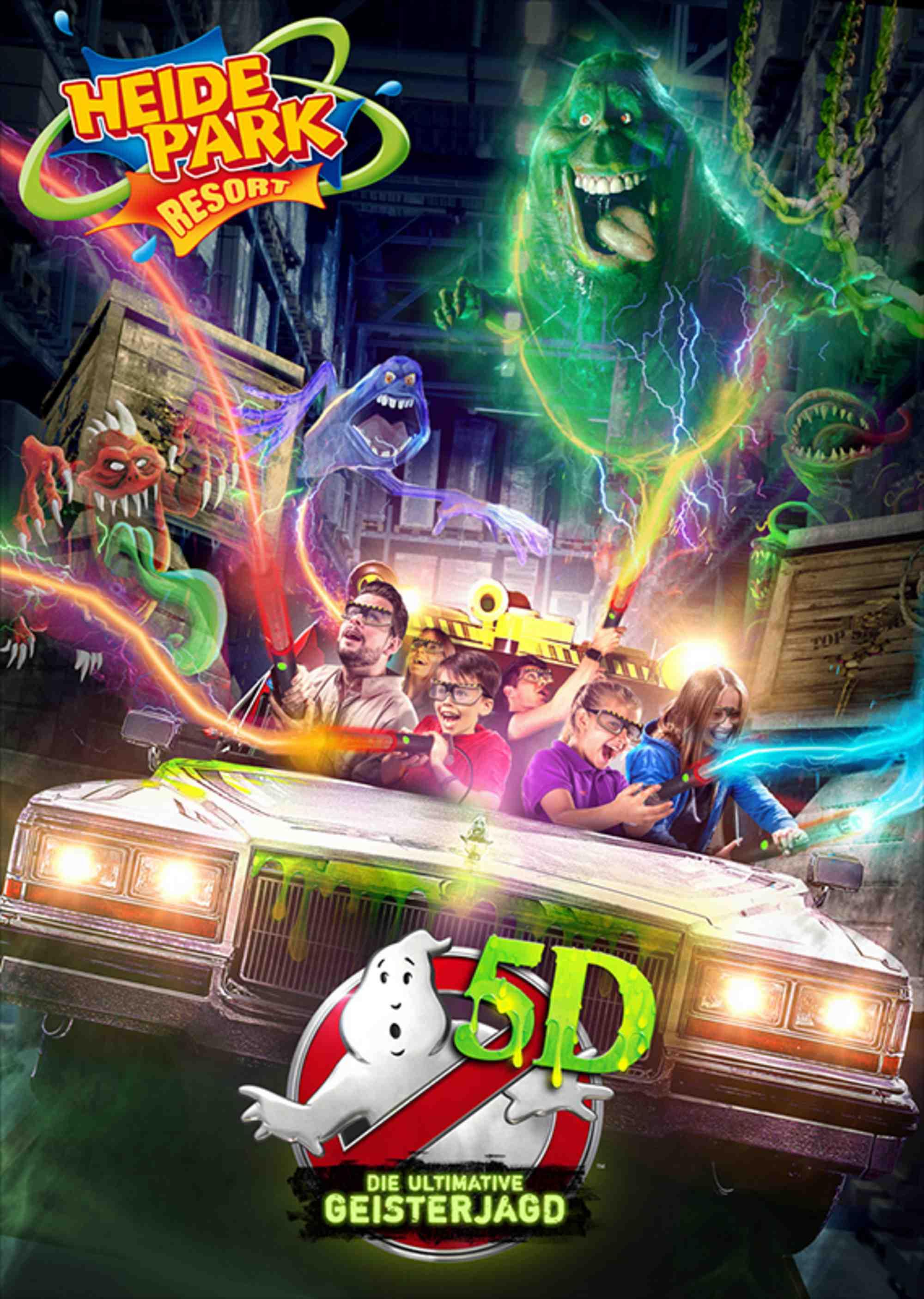 ghostbusters, heide park