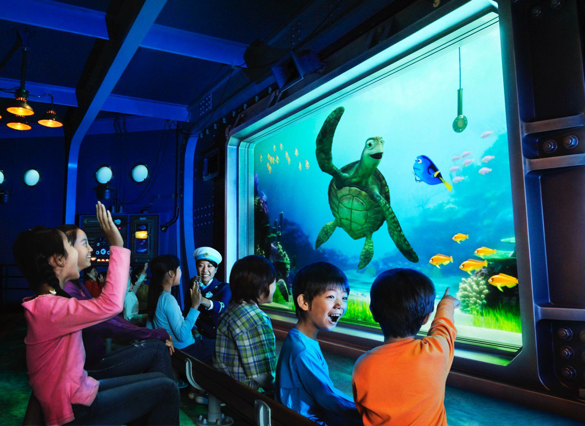 finding dory, disney sea