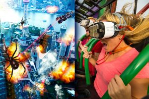 Six Flags Great Adventure Drop Of Doom Virtual Reality