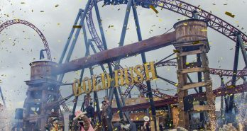 Gold Rush Opening Attractiepark Slagharen
