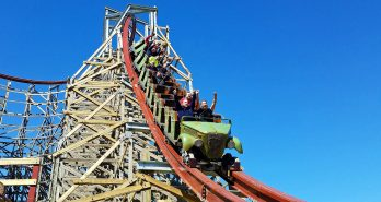Twisted Timbers Opens at Kings Dominion