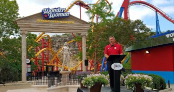 Wonder Women Golden Lasso Coaster opens