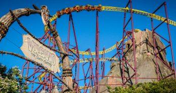 Volcano The Blast Coaster no more