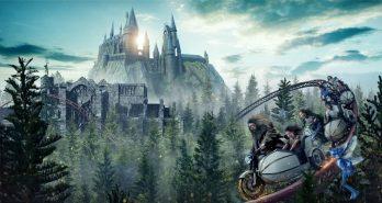Wizarding World Coaster revealed