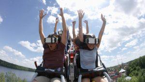 Six Flags New Revolution VR Coaster