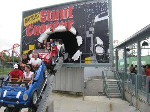 Back Lot Stunt Coaster Kings Island
