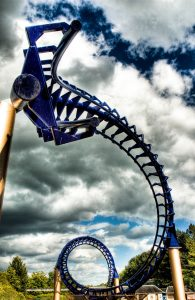 Corkscrew Alton Towers