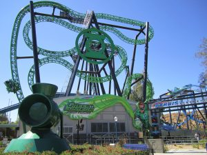 Green Lantern: First Flight Six Flags Magic Mountain