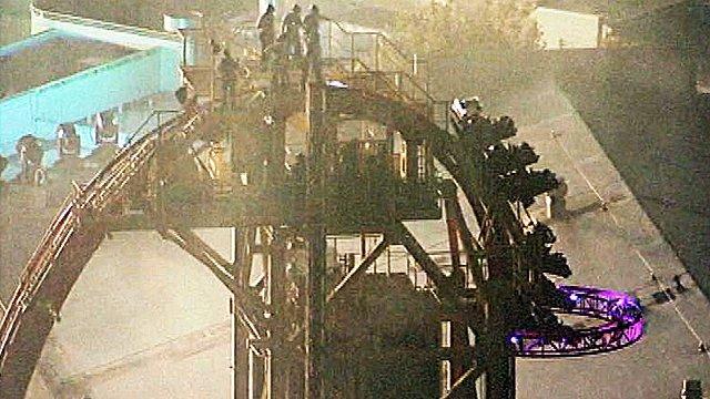 Hollywood Rip Ride Rockit, Universal Studios Orlando Florida Accident