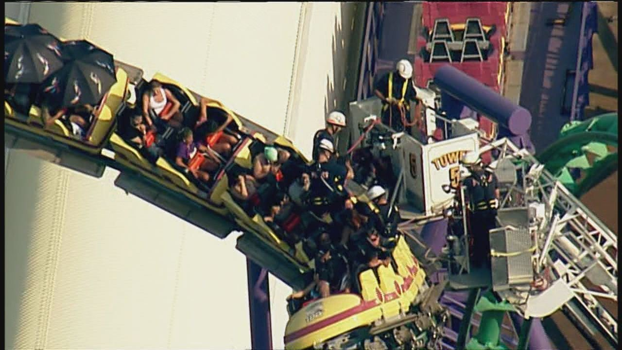 oker's Jinx Six Flags America Maryland Accident