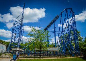 Mr. Freeze Reverse Blast Six Flags St. Louis