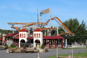 Neo's Twister at PowerLand Park in Finland.